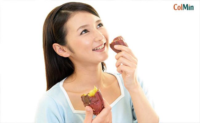 viêm đại tràng có nên ăn khoai lang không